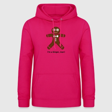 Isle of Ginger, man by Isles of Shirts - Frauen Hoodie