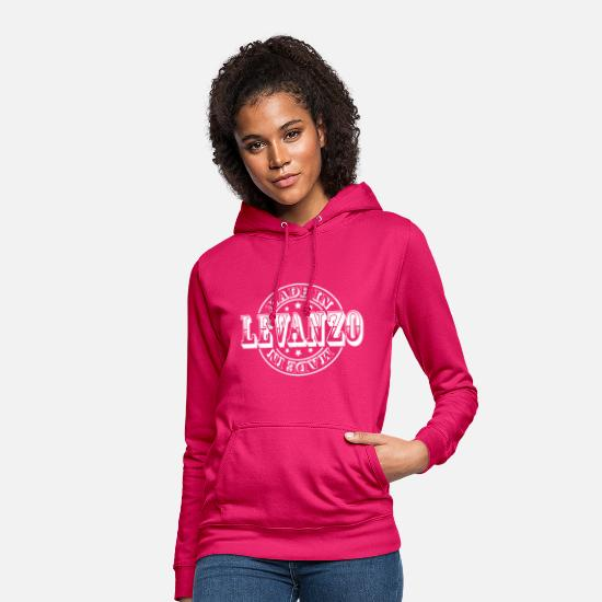 Italy Hoodies & Sweatshirts - Made in Levanzo m1 - Women's Hoodie dark pink
