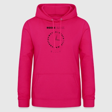 Riddle Clock Chienne - Sweat à capuche Femme