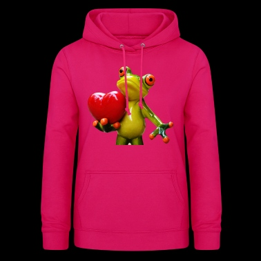 Hapi the tree frog - Women's Hoodie