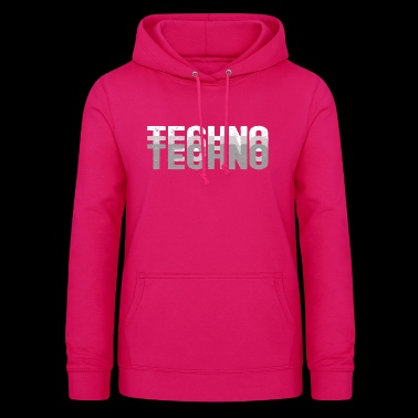 Techno | Electro Music Rave - Women's Hoodie