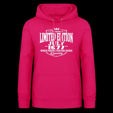 Limited edition july 1977 - Women's Hoodie