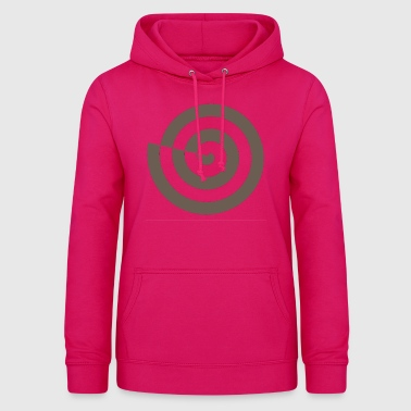 Spiral snail mystic sign magic Celts - Women's Hoodie