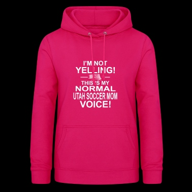 im not yelling copy - Women's Hoodie