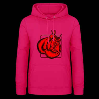 Red boxing gloves Boxing gloves - Women's Hoodie