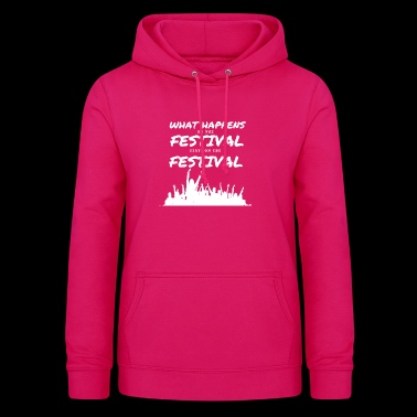 Fesitval Celebrate Music Rave Techno House Bass - Women's Hoodie