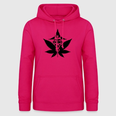 Herbal caduceus - Women's Hoodie