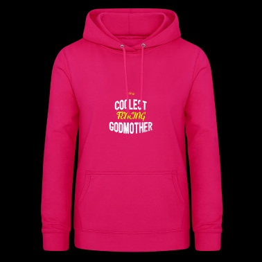 Distressed - COOLEST FENCING GODMOTHER - Women's Hoodie