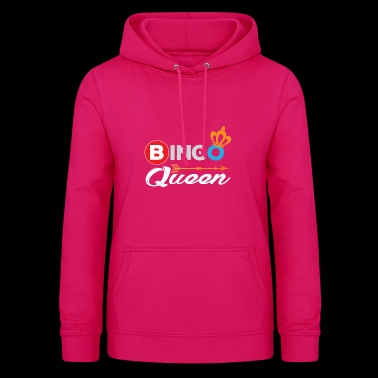 Bingo Shirt Bingo Queen Bingo Player Gift - Women's Hoodie
