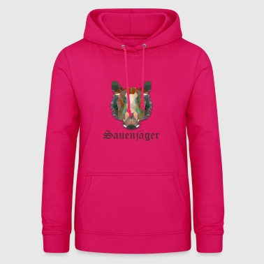 Hunter sow hunter boar sow T-shirt - Women's Hoodie