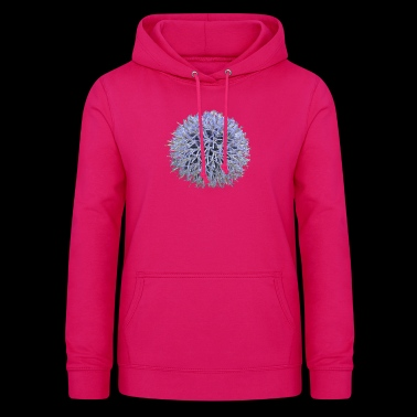 Large lilac flower - Women's Hoodie