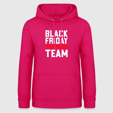 Black Friday Shopping Team Ugedage Shopper Lover - Dame hoodie