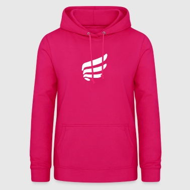 Right wing with 4 springs - Women's Hoodie