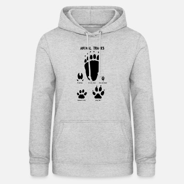 Track Animal tracks - Animal tracks - Women's Hoodie
