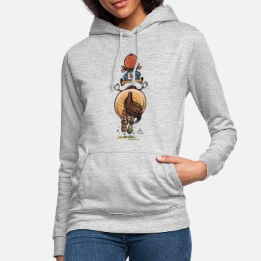Thelwell Funny Riding Beginner Illustration - Women's Hoodie