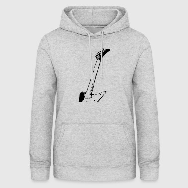 Band Electric guitar neck - Women's Hoodie