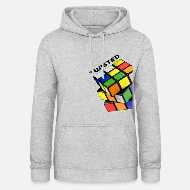 Rubik's Cube Twisted Sides - Women's Hoodie
