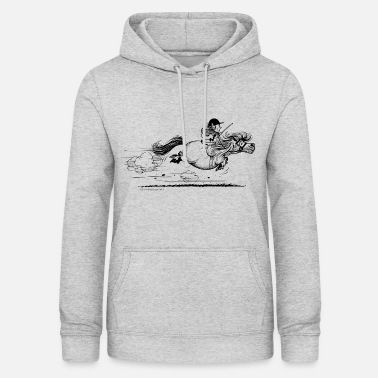 Ponysprint Thelwell cartoon - Dame hoodie