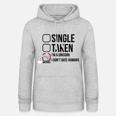 SmileyWorld I don't date Humans - Women's Hoodie
