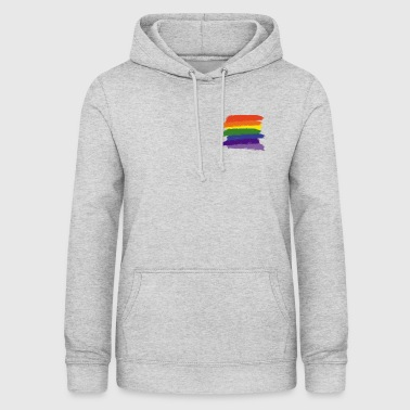 Rainbow Paint Brushes - Women's Hoodie