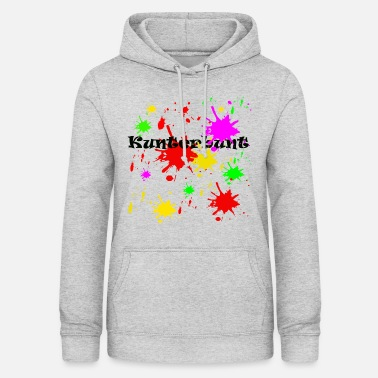 Splash Colorful splashes of color, painting, sylvester, silveste - Women's Hoodie
