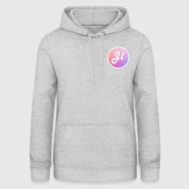 Just Lewis Circle Logo - Women's Hoodie