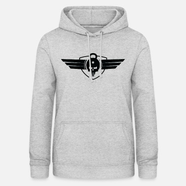 Cross Fit Cross Fit Liverpool Classic Emblem - Sudadera con capucha para mujer