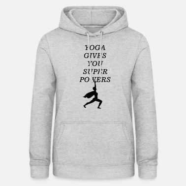 Power Yoga - Women's Hoodie