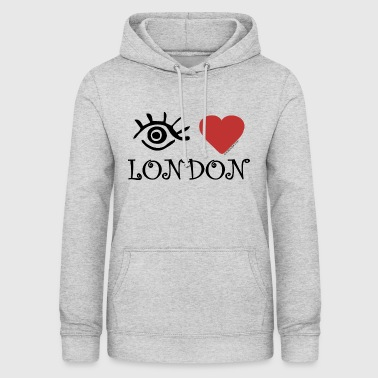 Eye-Love London - Naisten huppari