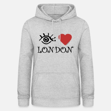 Eye-Love 'London' - Women's Hoodie