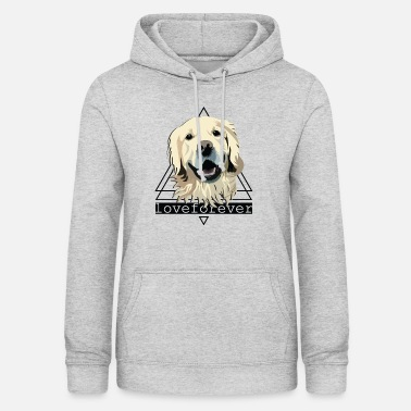 Golden Retriever RETRIEVER LOVE FOREVER - Sweat à capuche Femme
