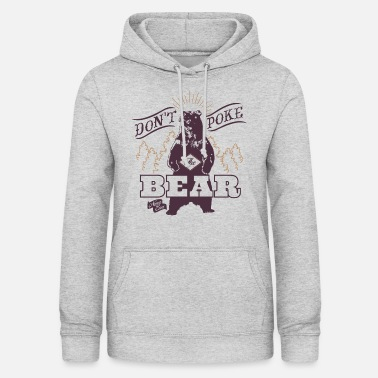 Animal Planet Poker Bär - Frauen Hoodie