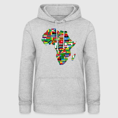 collection afrique - Sweat à capuche Femme