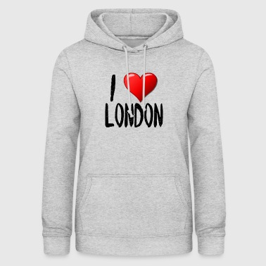 London I Love London - Dame hoodie
