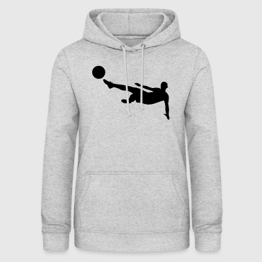 Footballeur backflip - Sweat à capuche Femme