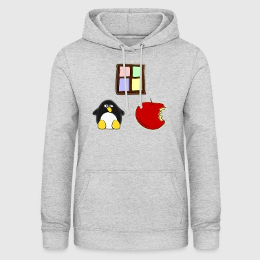 Linux Apple Windows - Frauen Hoodie