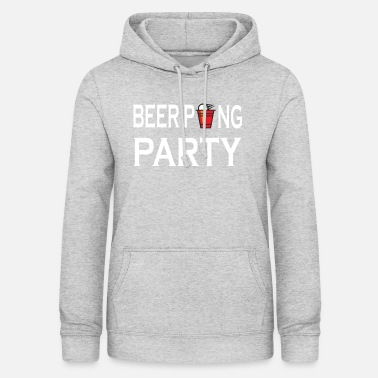 Trinkspiel Beer Pong Party Trinkspiel - Frauen Hoodie