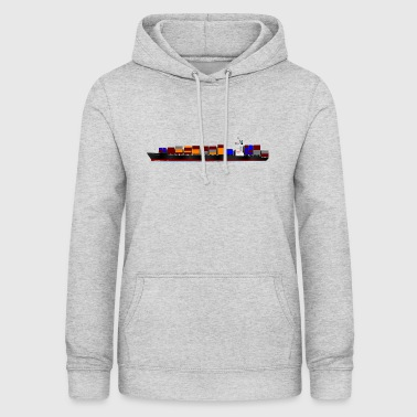 Container Ship - Frauen Hoodie