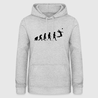Evolution Beach Volleyball Player Sport - Vrouwen hoodie