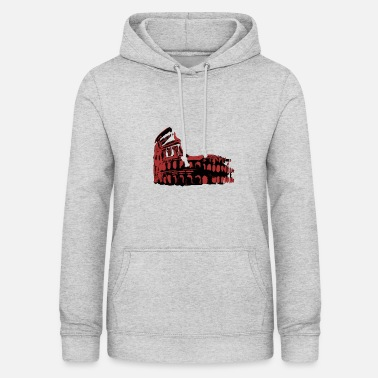 Monument Colosseum at night - Monument of Italy - Women's Hoodie