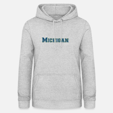 Michigan Michigan - Bluza damska z kapturem