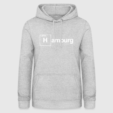 Hamburg elements periodic system hydrogen - Women's Hoodie