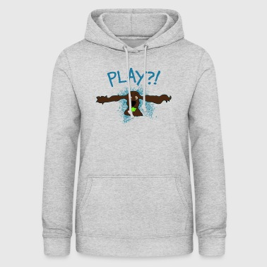 Cocker Spaniel Play ?! - Women's Hoodie