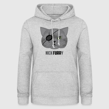 Nick Furry Cat - Women's Hoodie