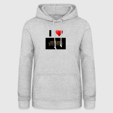 League of Legend Gaming love idea de regalo - Sudadera con capucha para mujer