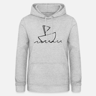 Sailboat Boat sailboat - Women's Hoodie