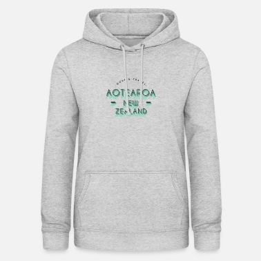 Aotearoa AOTEAROA NEW ZEALAND Work and Travel - Women's Hoodie
