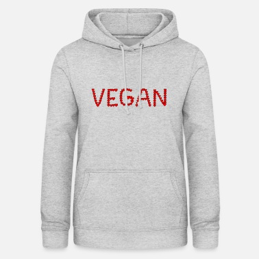 VEGAN from small hearts - Women's Hoodie