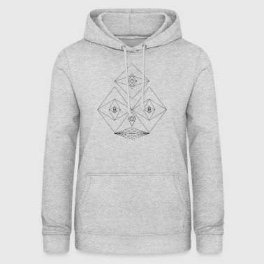 Faces meadow - Women's Hoodie
