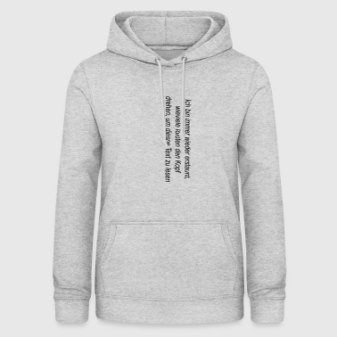 turn head - Women's Hoodie